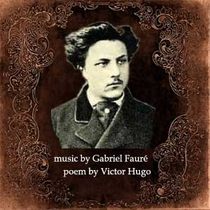 Faure Gabriel - Three Songs for soprano & guitar