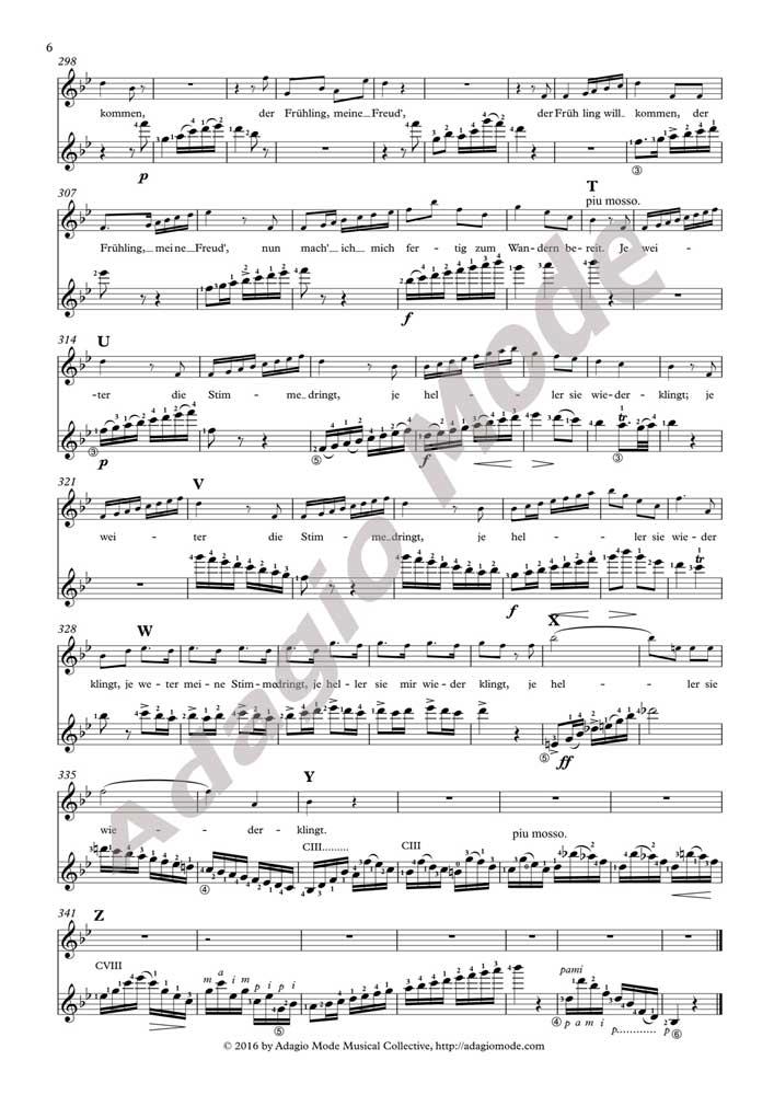 Schubert - Der Hirt Auf Dem Felsen (guitar version)