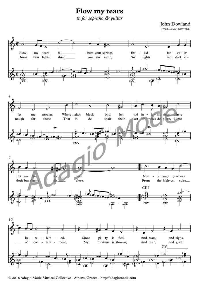 John Dowland - Lute Songs