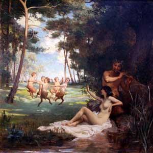 Mouquet Jules - La Flute De Pan