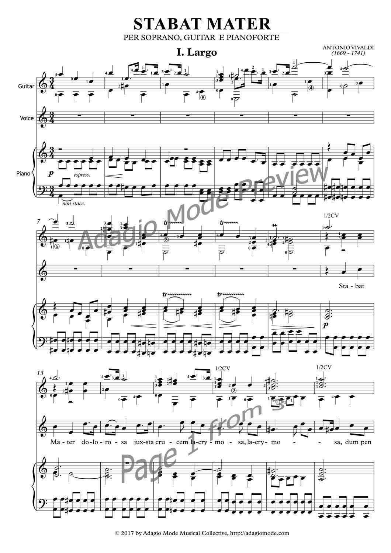 Vivaldi Antonio - Stabat Mater - I - Largo
