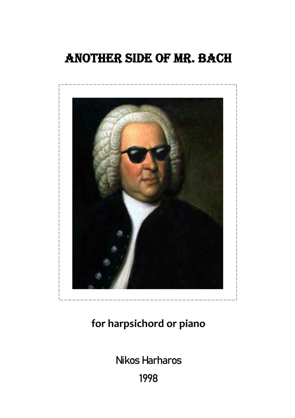 Harharos Nikos - Another Side of Mr. Bach